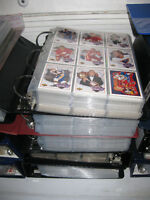 20 albums of 1989-94 Hockey cards and various baseball for sale