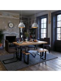 John Lewis Dining Chairs x2