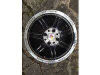 "Momo corse 15"" lightweight alloy wheel"