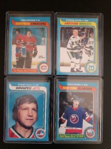 "LOT OF 1979 OPC STAR CARDS ""MINT"""