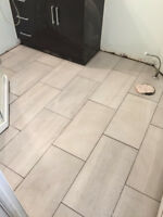 Floor Tiling Services - Installation/ Repairs/Regrouting.