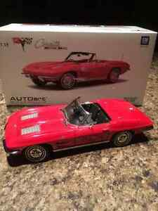 Corvette Stingray 1963 diecast 1:18