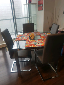 Costco 5 piece Dining Set on Sale,Moving sale must go!!