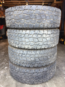 Set of four Tires for sale.