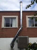 entretien professionelle poele,foyer,cheminée   RBQ;8100-9656-21