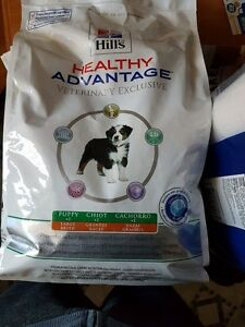 Hills Healthy Advantage Vet Exclusive 12 pound puppy food