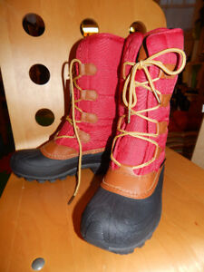 red Kamik Women Mcgrath Snow Boot size 7 US