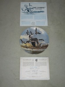 """Collector Plate """"The Landing"""""""