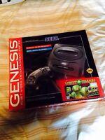 Sega Genesis 2 NEUF jamais servi!