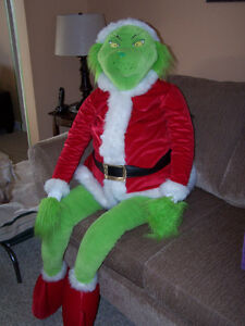 Giant plush Grinch