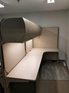 Double Office cubicle