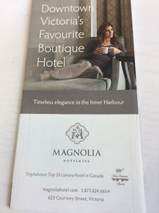 Planning a Trip to Victoria BC? Great Deal for a Luxury Hotel!