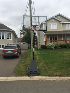 Spalding 54 inch Basketball System (almost new)