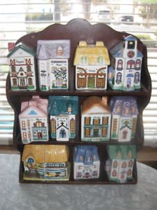 Avon collectible Spice Holder Set Collection