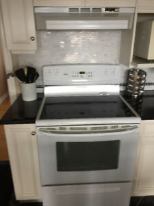 Kitchen Range complete with matching ventilation hood  excellent