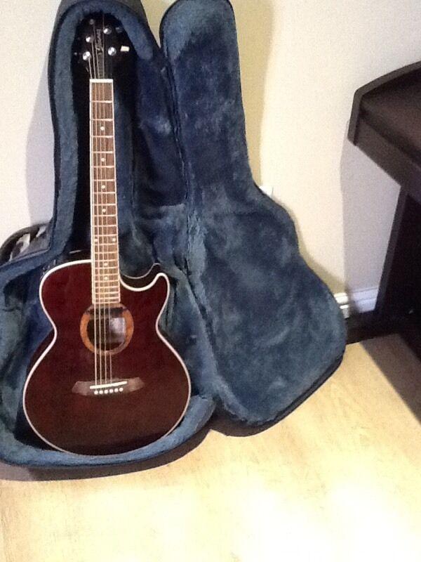Ibanez semi acoustic guitar