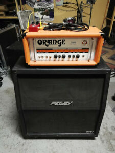 Orange TH30 Head, Peavey 5150 4x12 Cab, Hall of Fame Reverb, MXR