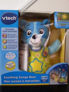 New Vtech Soothing Songs Teddy Bear