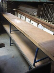 LONG BENCHES - GREAT FOR ICE RINK OR GYM