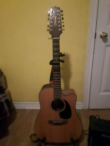 12 string guitar with amp
