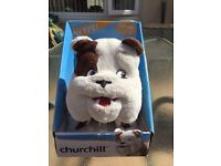 Talking Churchill dog
