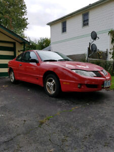 2003 Pontiac Sunfire GT Coupe (2 door) - Red - 172K