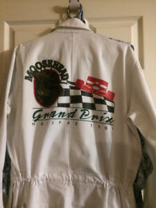 1991 Halifax Moosehead Grand Prix coveralls size Lg