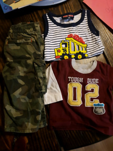 Big box of baby boy clothes for sale