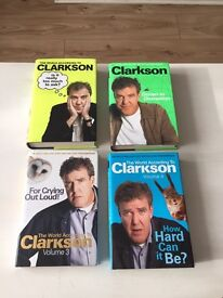 Four Jeremy Clarkson Books (Very Funny)