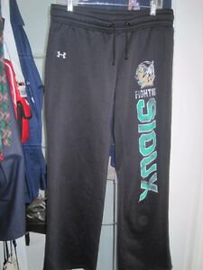 North Dakota Fighting Sioux Hockey Under Armor Athletic Pants