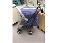 Maclaren Techno XT Pushchair stroller with rain