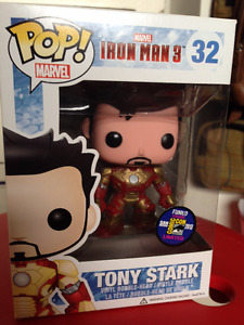 RARE IM3 Tony Stark SDCC exclusive FunkoPop