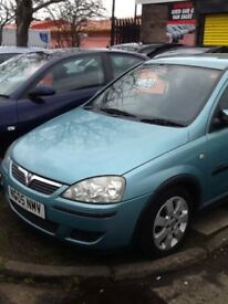 Vauxhall corsa mot excellent condition inside and out