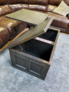 Coffee table and end table