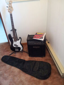 Guitare basse + Ampli