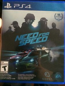 Need for speed ps4 neuf