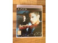 PS3 prison break game perfect condition