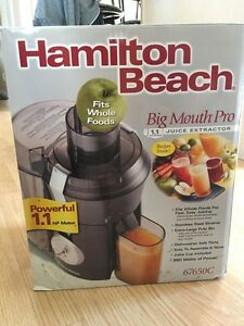 Hamilton Beach Juicer: Big Mouth Pro