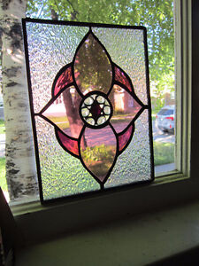 Colorful - Stained Glass - Window Hanger