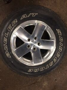 "Jeep Wrangler 18"" wheels & tires Kitchener / Waterloo Kitchener Area image 5"
