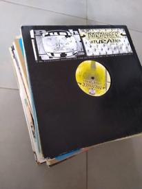 Record vinyl bundle dance music collection