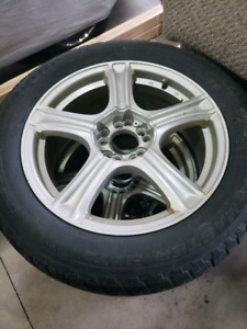 Winter tires and rims 300 obo