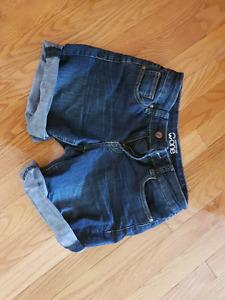 Warehouse one jean shorts