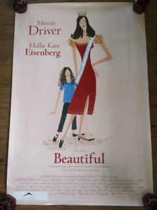"""Beautiful, Minnie Driver (2000) (Double Sided)   27""""x40"""" Movie P"""