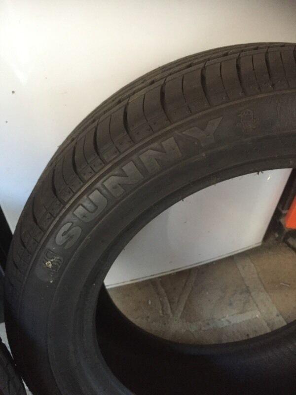 Sunny tyre 195/55r16
