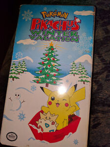 Pokemon pikachus winter vacation vhs