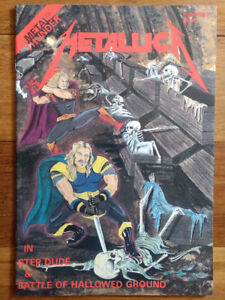 Metallica comic book