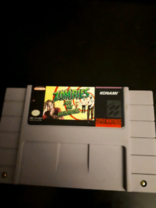 Axelay, Zombies ate my Neighbors, Mario All Stars for SNES