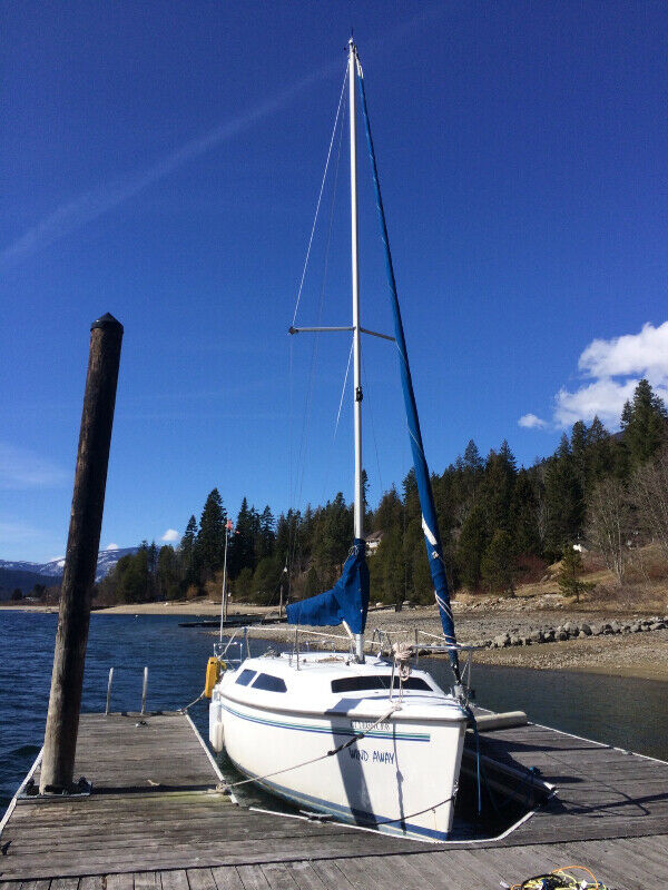 1998 Catalina 250 sailboat and trailer or sale, SOLD!