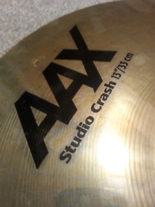"13"" brilliant finish SABIAN AAX CRASH"